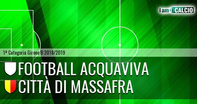 Football Acquaviva - Città di Massafra