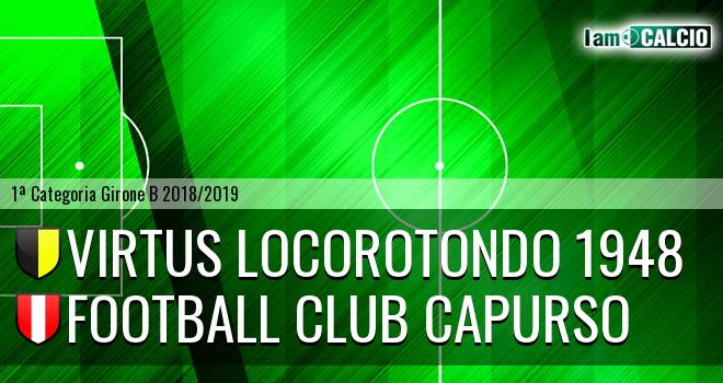 Virtus Locorotondo 1948 - Football Club Capurso