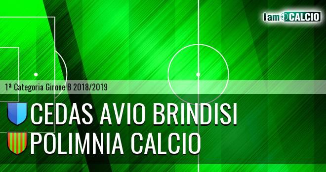 Cedas Avio Brindisi - Polimnia Calcio