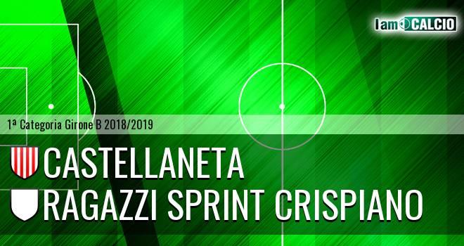 Castellaneta - Ragazzi Sprint Crispiano