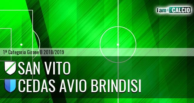 San Vito - Cedas Avio Brindisi