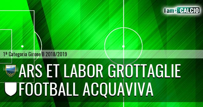 Ars et Labor Grottaglie - Football Acquaviva