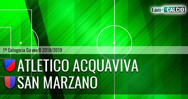 Atletico Acquaviva - San Marzano