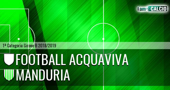 Football Acquaviva - Manduria