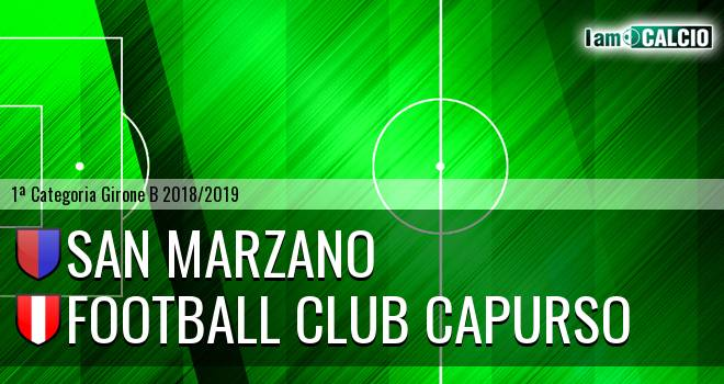 San Marzano - Football Club Capurso