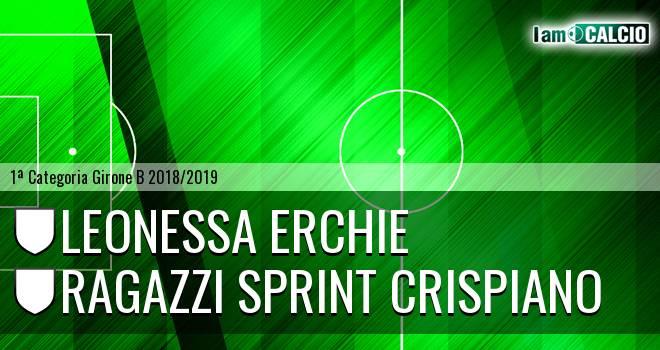 Leonessa Erchie - Ragazzi Sprint Crispiano