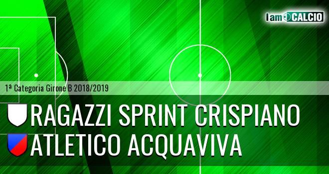 Ragazzi Sprint Crispiano - Atletico Acquaviva