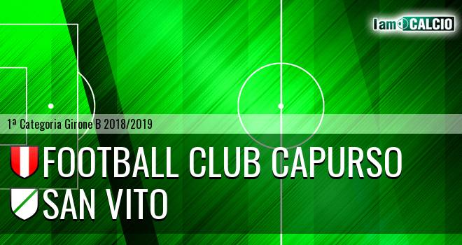 Football Club Capurso - San Vito