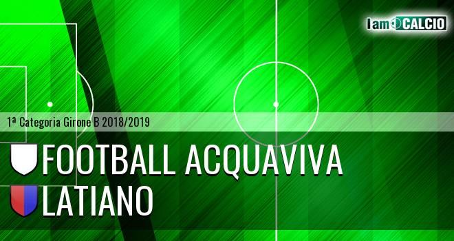 Football Acquaviva - Latiano