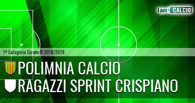 Polimnia Calcio - Ragazzi Sprint Crispiano