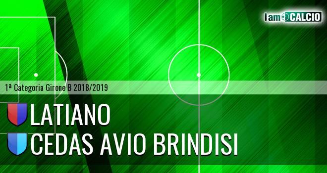 Latiano - Cedas Avio Brindisi