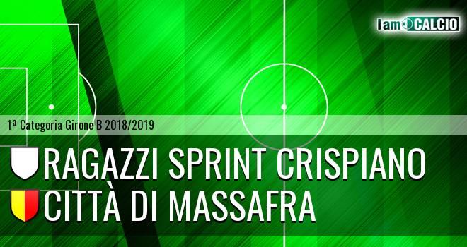 Ragazzi Sprint Crispiano - Città di Massafra