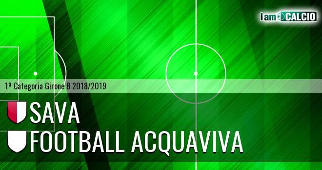 Sava - Football Acquaviva