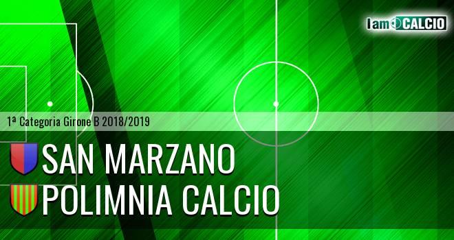 San Marzano - Polimnia Calcio