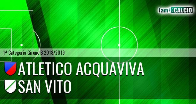 Atletico Acquaviva - San Vito