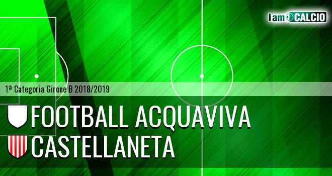 Football Acquaviva - Castellaneta