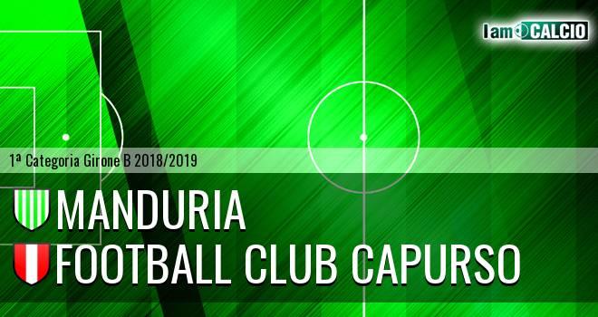Manduria - Football Club Capurso