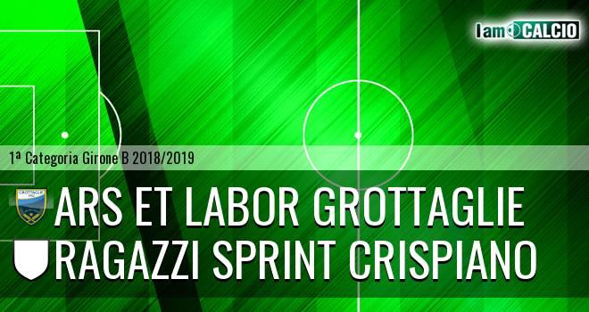 Ars et Labor Grottaglie - Ragazzi Sprint Crispiano