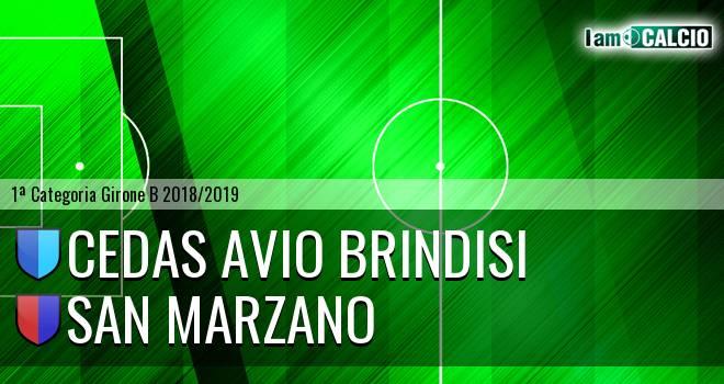 Cedas Avio Brindisi - San Marzano