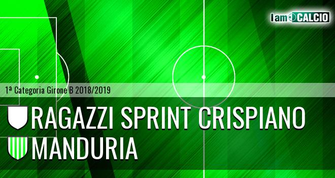 Ragazzi Sprint Crispiano - Manduria