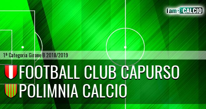 Football Club Capurso - Polimnia Calcio