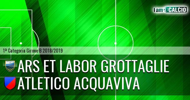 Ars et Labor Grottaglie - Atletico Acquaviva