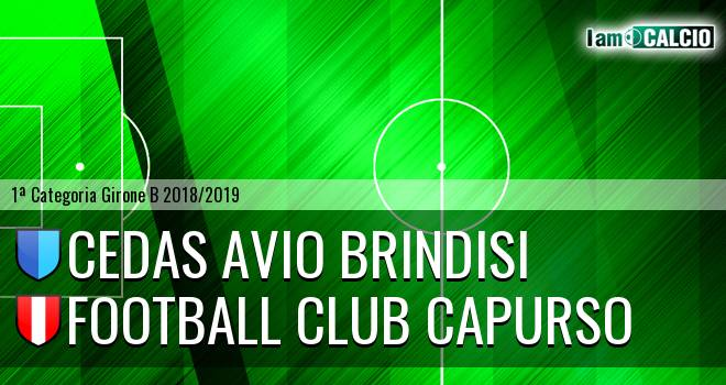 Cedas Avio Brindisi - Football Club Capurso