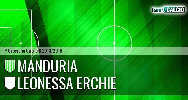 Manduria - Leonessa Erchie