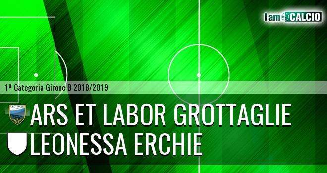 Ars et Labor Grottaglie - Leonessa Erchie
