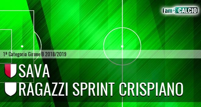 Sava - Ragazzi Sprint Crispiano