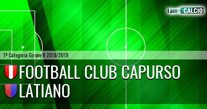 Football Club Capurso - Latiano