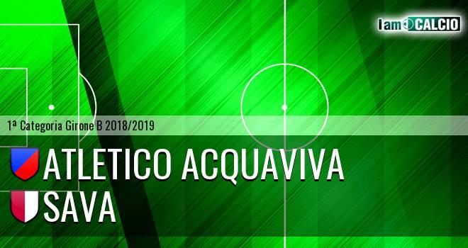 Atletico Acquaviva - Sava
