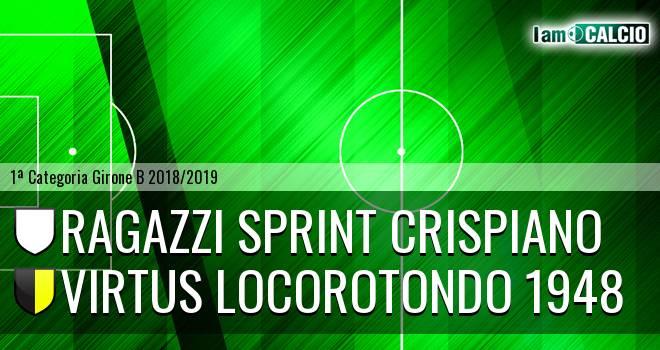 Ragazzi Sprint Crispiano - Virtus Locorotondo 1948