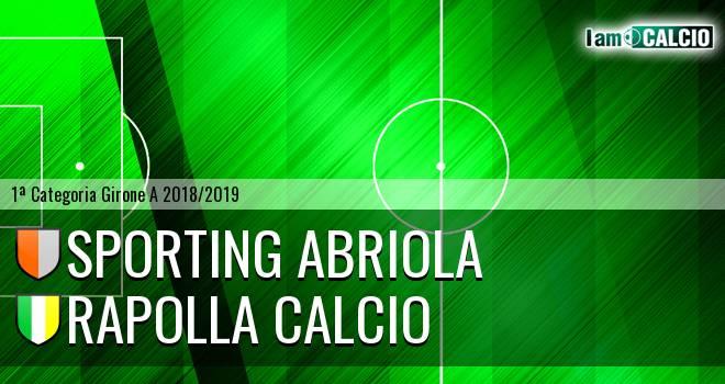 Sporting Abriola - Rapolla