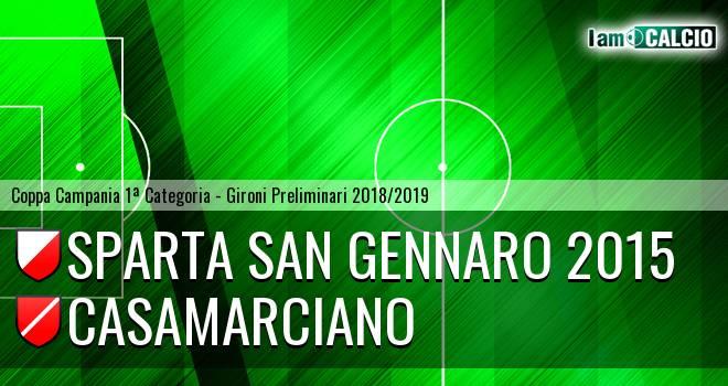 Sparta San Gennaro 2015 - Casamarciano