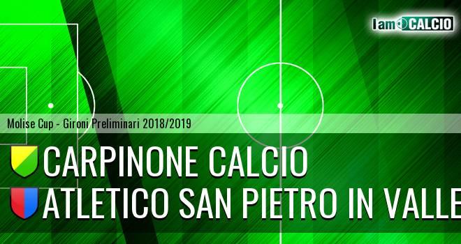 Carpinone Calcio - Atletico San Pietro in Valle
