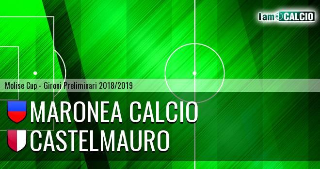 Maronea Calcio - Castelmauro Calcio 1986