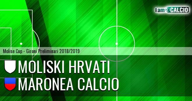 Moliski Hrvati - Maronea Calcio