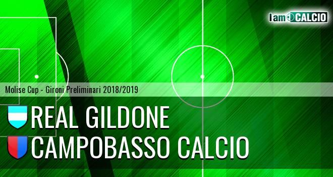 Real Gildone - Campobasso Calcio