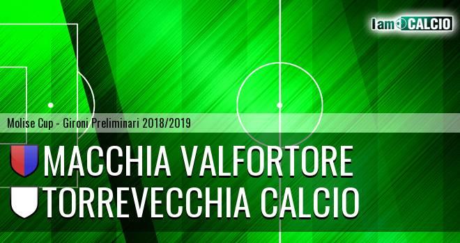 Macchia Valfortore - Torrevecchia Calcio