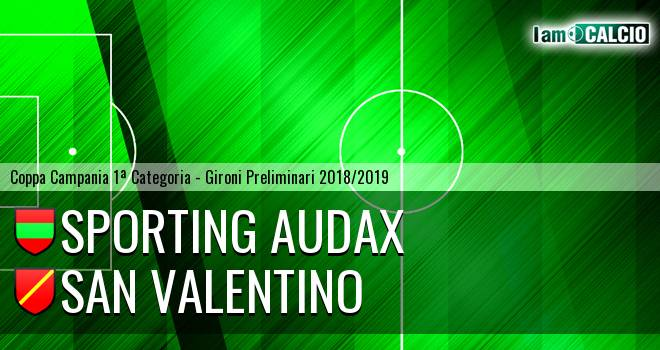 Sporting Audax - San Valentino