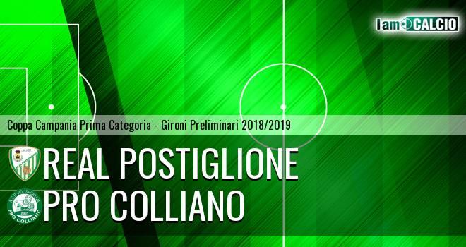 Real Postiglione - Pro Colliano
