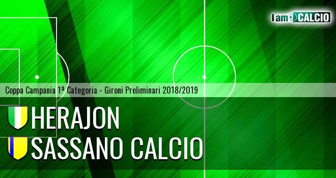 Herajon - Sassano Calcio