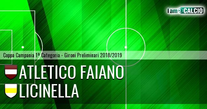 Atletico Faiano - Licinella