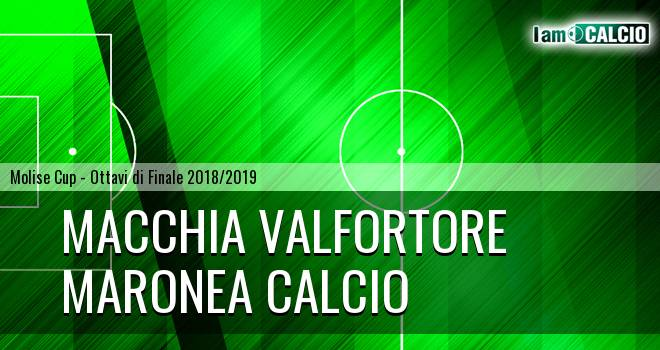 Macchia Valfortore - Maronea Calcio