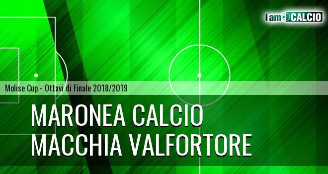 Maronea Calcio - Macchia Valfortore