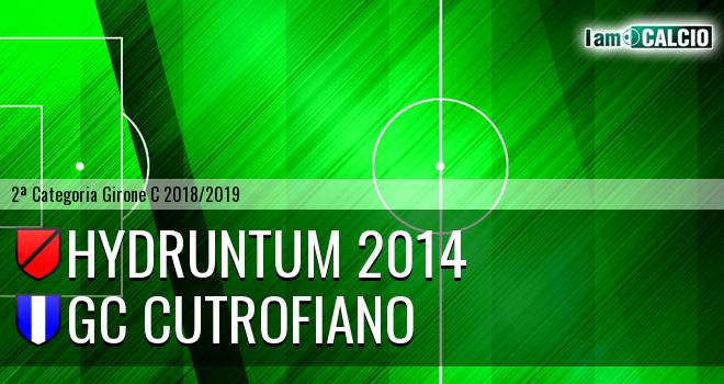 Hydruntum 2014 - GC Cutrofiano
