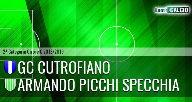 GC Cutrofiano - Armando Picchi Specchia