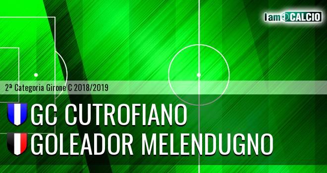 GC Cutrofiano - Goleador Melendugno