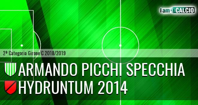 Armando Picchi Specchia - Hydruntum 2014